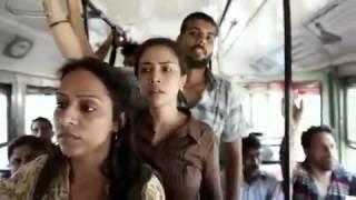 බස් වලදී ගැහැණුන්ට හේත්තු දාන්න යන අයට මේවා හොඳ පාඩම් !! girl hit man india