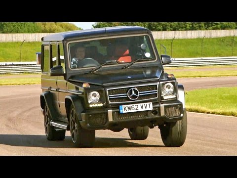 Testing The Mercedes G63 AMG #TBT - Fifth Gear