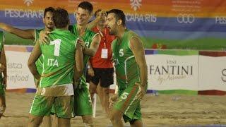 Mediterranean Beach Games: chiusa la seconda giornata a Pescara