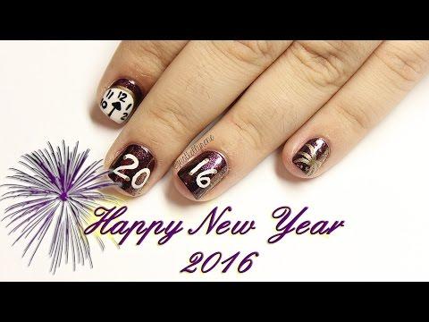 New Year Nails 2016♥justkellyrene