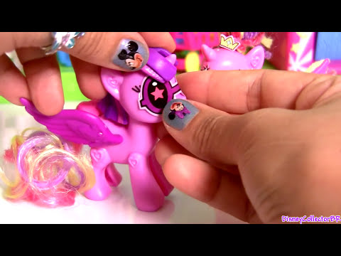 Princess Twilight Sparkle ❤ Princess Cadance My Little Pony POP Deluxe MLP ❤ juguete para niñas