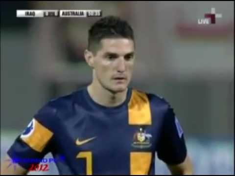 Iraq U19 - Australia U19 2-0 for IRAQ ضربة الجزاء واهداف العراق 14 - 11 - 2012