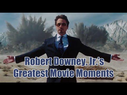 Robert Downey, Jr.'s Greatest Movie Moments