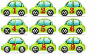 Dạy bé tập đếm số từ 1 đến 10 tiếng việt   em học nói với xe hơi đồ chơi   dạy trẻ thông minh sớm 1