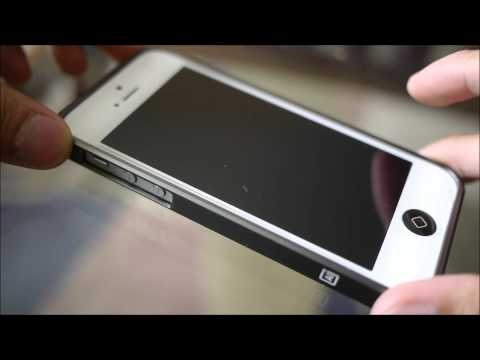 m: AL13 Ultra thin Aluminum Bumper for iPhone 5 hands-on
