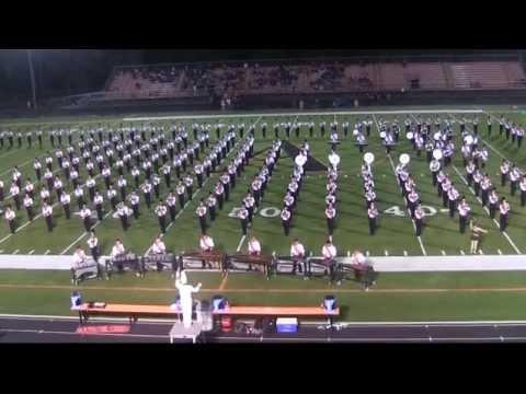 Ames High School Halftime 9.19.14