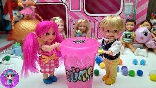 Opening many surprises of Slide L.O.L 🌼 Videos of Ladybug and dolls L.O.L - JJ 'Toys