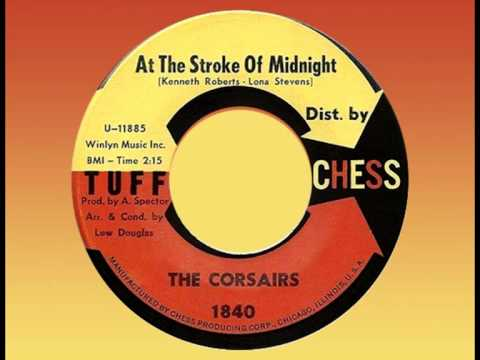 CORSAIRS - At the Stroke of Midnight (1962) Very Unusual Doo-Wop!