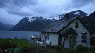 Thunderstorm Sounds by the Lake House | Thunder and Rain for Sleeping, Relaxing or Study