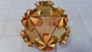 How To Make Origami Sakura Polyhedra (martin Sejer Andersen)