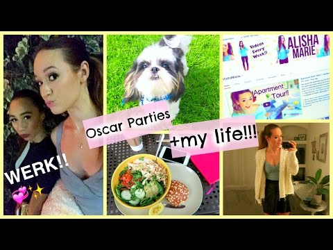 OSCAR PARTIES + A DAY IN MY LIFE!!!