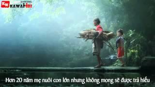 Bóng Cha Đời Mẹ - K Na ft Phutoro [Video Lyrics]