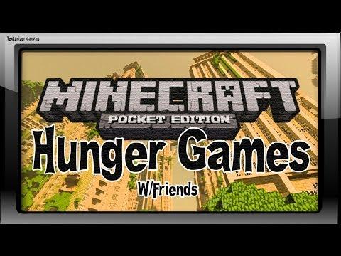 HUNGER GAMES- Minecraft Pocket Edition