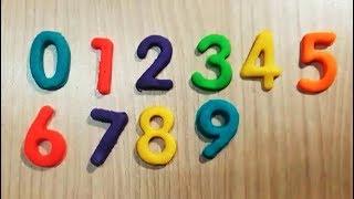 Dạy bé học đếm số tiếng việt |Trò chơi đất sét nặn Play-doh| tập nhận biết màu sắc 1