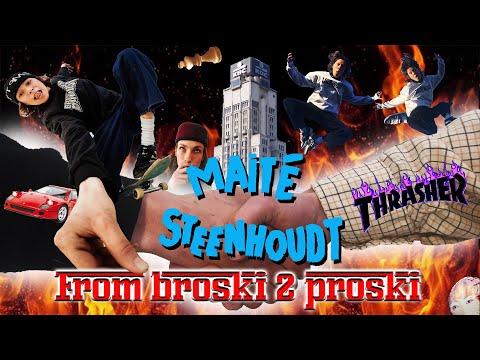 "Maité Steenhoudt's ""From Broski 2 Proski"" Video"