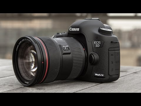 Canon EOS 5D Mark IV | Распаковка