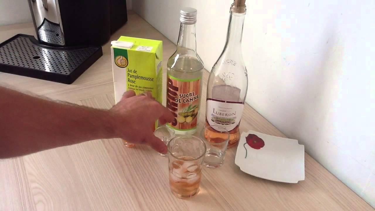 Faire un cocktail champlure cocktail base de vin ros for Cocktail 7cl