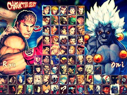 hyper street fighter iv m.u.g.e.n hi res (game completo