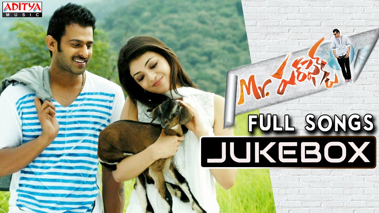 Mr Perfect Telugu Movie Songs Jukebox || Prabhas, Kajal ...