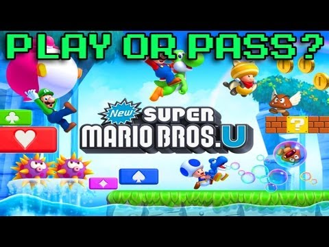 Play or Pass - New Super Mario Bros U - Wii-U (Review)