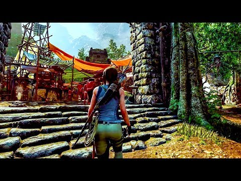 SHADOW OF THE TOMB RAIDER - 30 Minutes of Gameplay (PS4, XBOX ONE, PC) Developer Walkthrough 2018