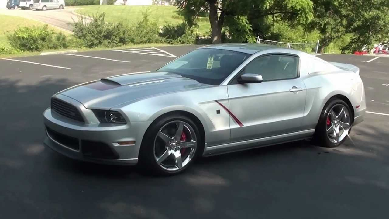 for sale new 2013 ford mustang roush stage 3 silver stk 30057 youtube. Black Bedroom Furniture Sets. Home Design Ideas