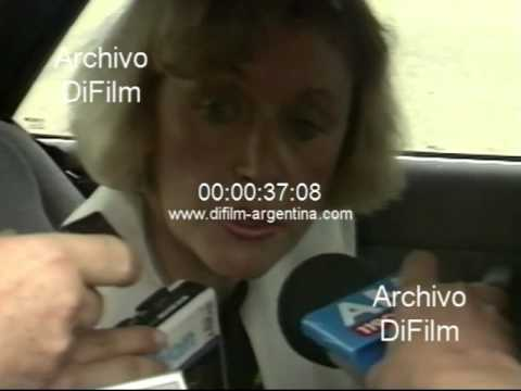 DiFilm - Maria Servini de Cubria extradición de Alejandro Canda 1991