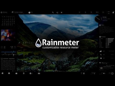 Rainmeter - Starters Guide
