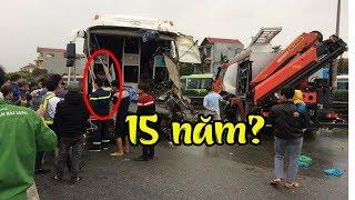 Lái xe khách đâm xe cứu hỏa trên cao tốc Pháp Vân đối diện mức án 15 năm tù giam?
