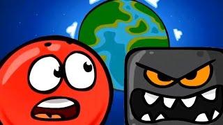 Мультик игра для детей малышей Красный шарик RED BALL #3 Мультфильмы и видео Cartoon game for kids