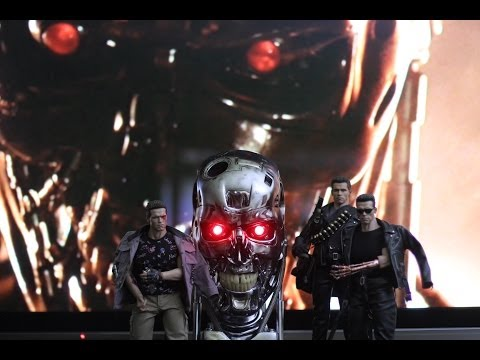 SIDESHOW 1:1 SCALE  T-800 ENDOSKULL COMBAT VERSION
