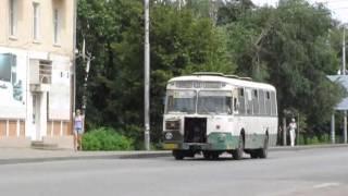 Автобусы ЛиАЗ-677 АП №1 , г. Пенза. Видео 2011 года
