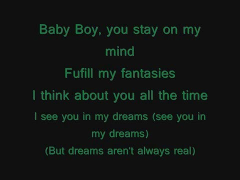 Beyonce ft. Sean Paul- Baby boy (Lyrics on screen) Music Videos