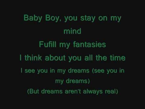 Beyonce ft. Sean Paul- Baby boy (Lyrics on screen)