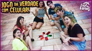 JOGO DA VERDADE COM CELULARES!! - CASA DE FÉRIAS #32 [ REZENDE EVIL ]