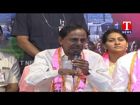 CM KCR Answers to Media | Telangana Bhavan | TNews live Telugu