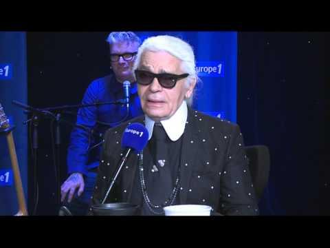 Karl Lagerfeld : il comprend la réaction de Valérie Trierweiler