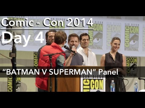 BATMAN V SUPERMAN Panel, Comic Con 2014; feat: ZACK SNYDER, BEN AFFLECK, HENRY CAVILL