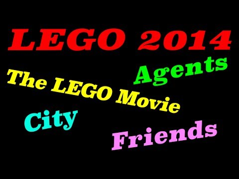 2014 LEGO Agents, City,