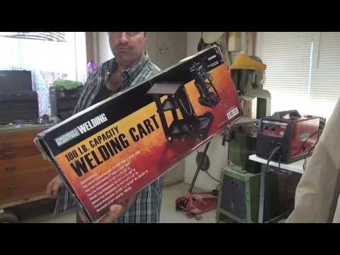 Generic Welding Cart Build up Part 1* Assemble stock Cart * Customize. Modify & Build