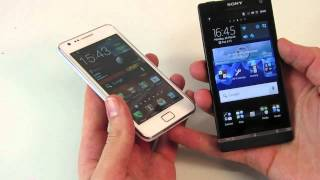 Samsung Galaxy S2 (Ice Cream Sandwich) vs. Sony Xperia S