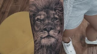 How to tattoo a Lion