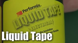 Liquid Tape - really useful for RC model fliers