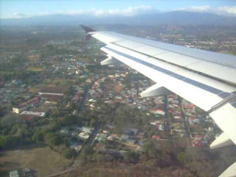 ATERRIZAJE EN SAN JOSÉ - COSTA RICA