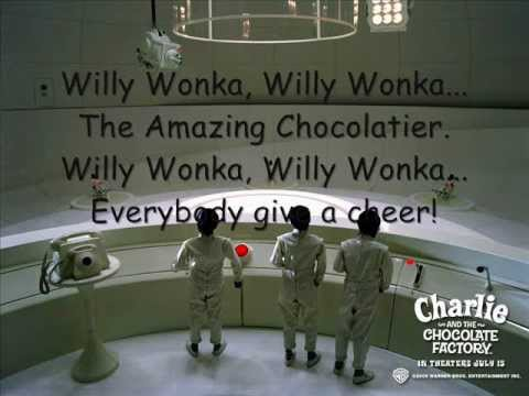 all the willy wonka play songs