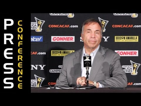 Bruce Arena Postgame Reaction vs Herediano in CCL Quarterfinals - 3/13/13