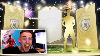PRIME ICON IN A PACK!!! INSANE FIFA 19 PACK OPENING!!!