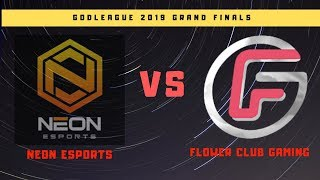 🔴LIVE NEON ESPORTS VS FLOWER CLUB  GAME 2  || BO3 || GRANDFINALS || DOTA GOD LEAGUE 2019