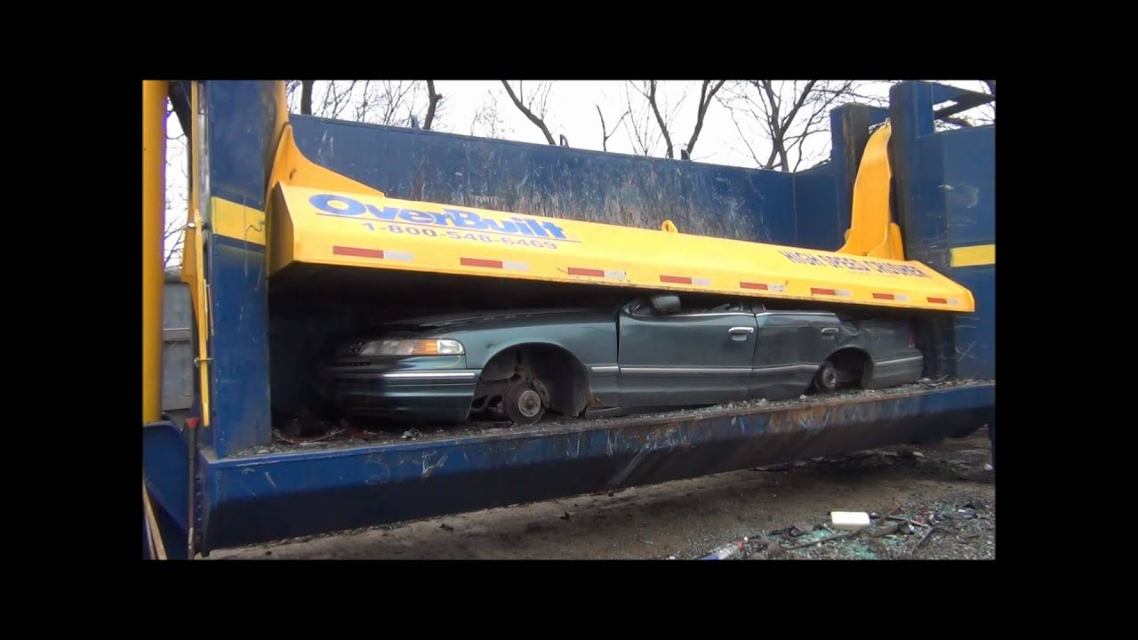 Car Crusher Parts