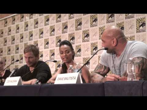 GUARDIANS OF THE GALAXY San Diego Comic-Con Q&A interview - Bigfanboy.com's question 2013